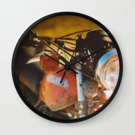 The Bike. Wall Clock