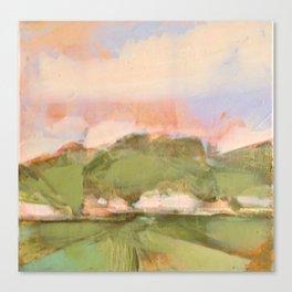 Joyous oaks Canvas Print