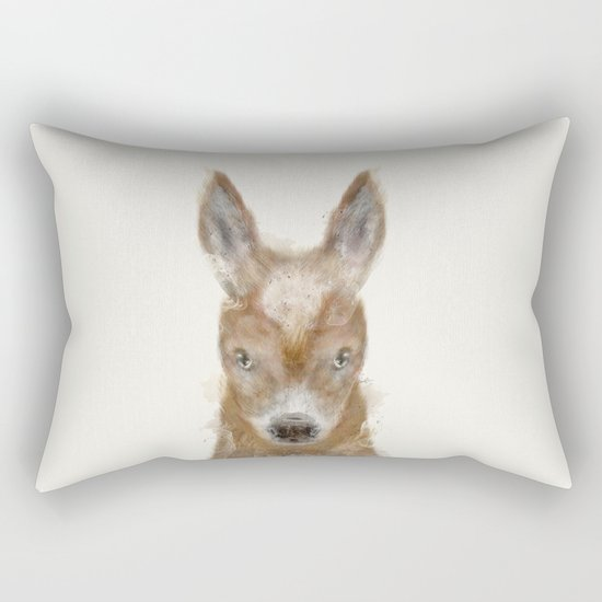 little donkey Rectangular Pillow