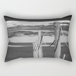 Way to the beach. Rectangular Pillow