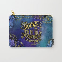 CP - Books Made Me Feel Less Alone Carry-All Pouch