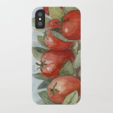 Out In the Garden iPhone X Slim Case