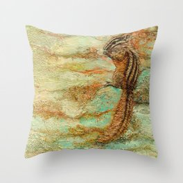 Jewel of the Underbrush Throw Pillow
