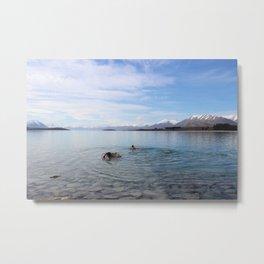 Lake Tekapo, New Zealand Metal Print