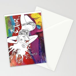 Mujer Stationery Cards