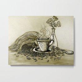 CoffeeCoffee Metal Print