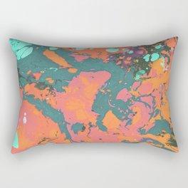 Summer evening marble Rectangular Pillow