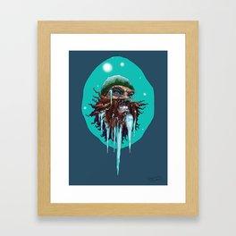 Winter Bites Framed Art Print