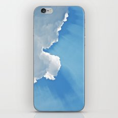 Sun rays behind Clouds iPhone & iPod Skin