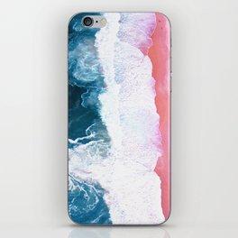 Aerial Coastal View iPhone Skin