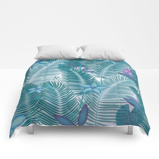 Tropical Flora Comforters
