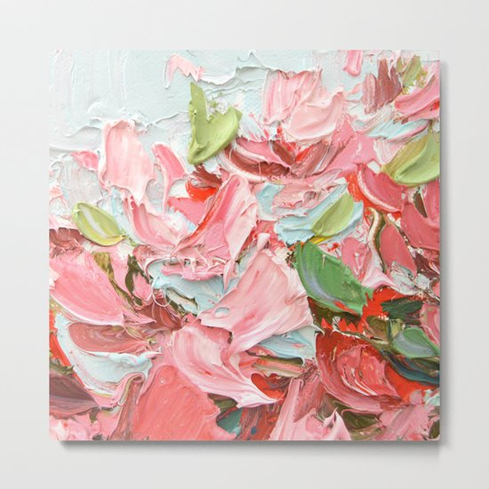 Pink Bouquet Metal Print