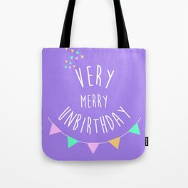 Very Merry Unbirthday to All Tote Bag