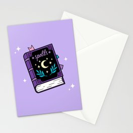 Magical Spellbook Stationery Cards