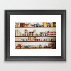 The General Store Framed Art Print