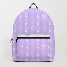 Kawaii Purple Backpack