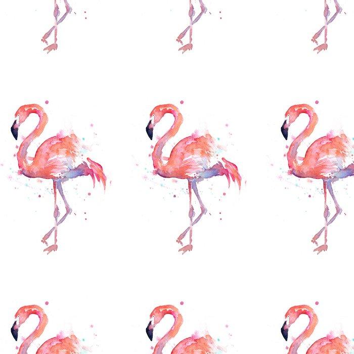 Flamingo Watercolor Leggings