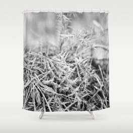 Spiked Forest Shower Curtain