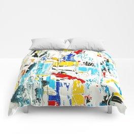 Yellow and Red Öl auf Leinwand Comforters
