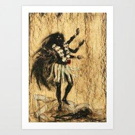 Hindu Kali 13 Art Print