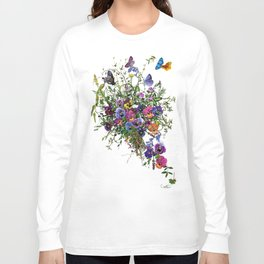 Pansy Delight Long Sleeve T-shirt