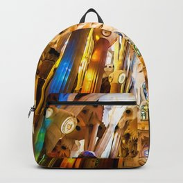 Sagrada Familia Art Work Backpack