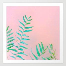 Leaf it Alone. Art Print