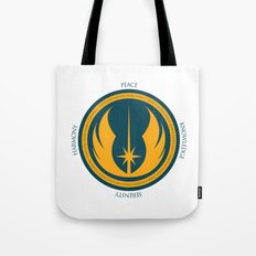 The Jedi Code Tote Bag