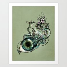 Flowing Creativity Art Print