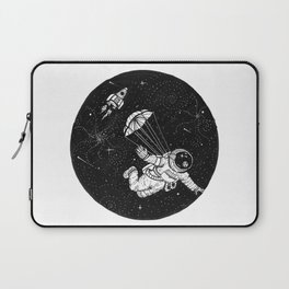 When jumping from an airplane just doesn't cut it anymore. Laptop Sleeve