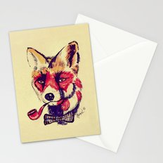 Vintage Fox Stationery Cards