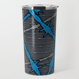 Barbed ELECTRIC BLUE Travel Mug