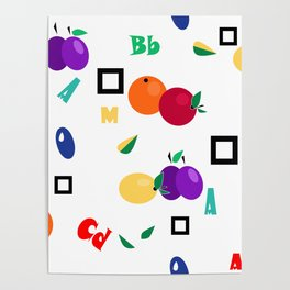 Orchard, fruit Poster