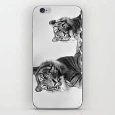 Tigers two iPhone & iPod Skin