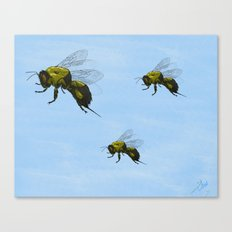 Flight of the Bumblebees Canvas Print