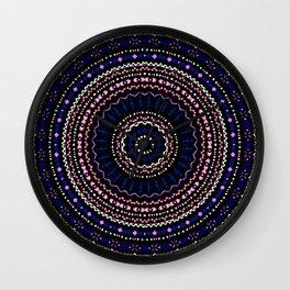 Mandala Geo Wall Clock