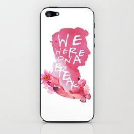 ross - we were on a break iPhone Skin