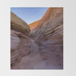 Colorful Canyon- 2, Valley of Fire State Park, Nevada Throw Blanket