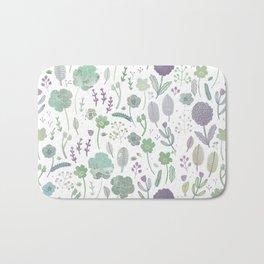 Wild Bloom Bath Mat