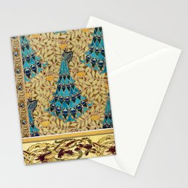 Maurice Pillard Verneuil - Paons dans les sorbiers Stationery Cards