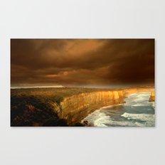Limestone Cliffs Canvas Print