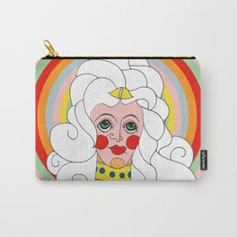 Theodora in Technicolor Carry-All Pouch