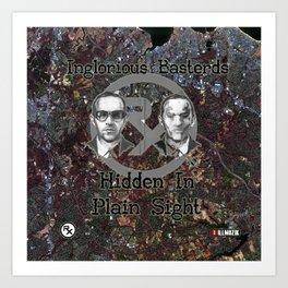 Rx - Inglorious Basterds - H.I.P.S. Art Print