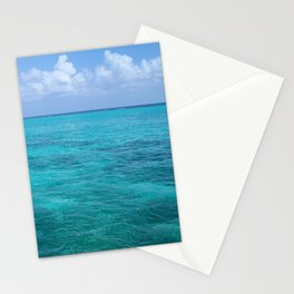 Caribbean Blues Stationery Cards