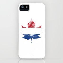 Netherlands/Canada iPhone Case