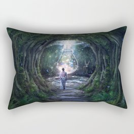 Stay For A Moment Rectangular Pillow
