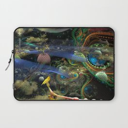 The Bioluminoidal Fractalization Process Laptop Sleeve