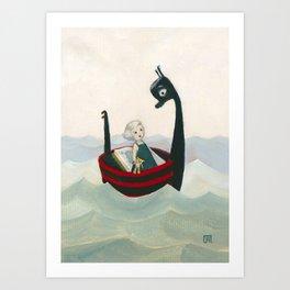 The Stowaway Art Print