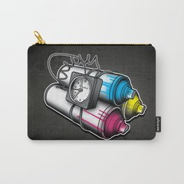 Graffiti Bombing Carry-All Pouch