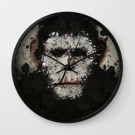Face Paint Wall Clock